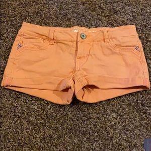 Orange Mossimo shorts